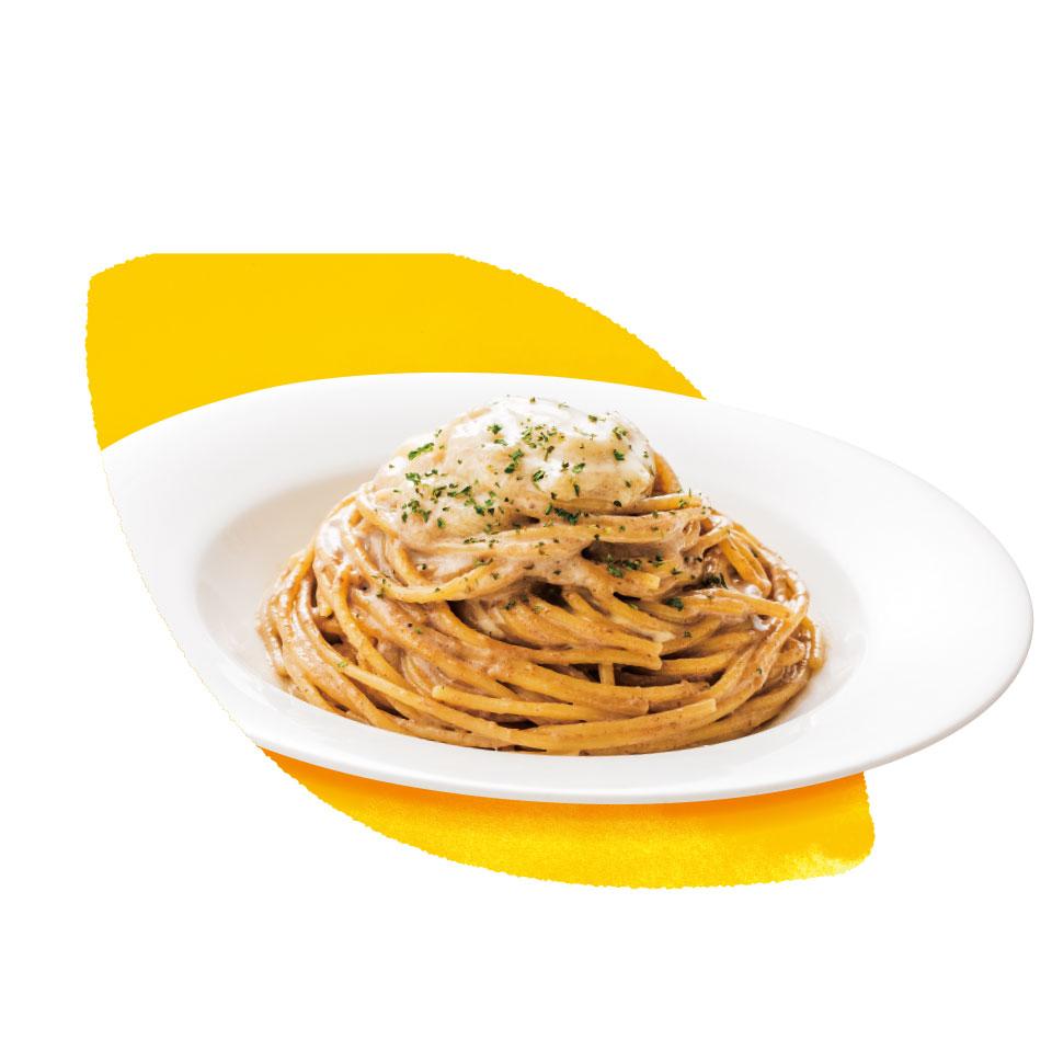 モッツァレラチーズのマッシュルームクリーム