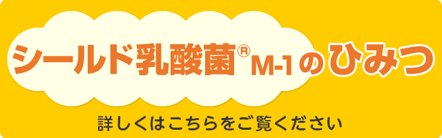 シールド乳酸菌M-1のひみつ
