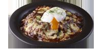 牛肉のドリア ~半熟卵のせ~