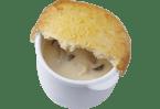 茸のクリームパイ包み
