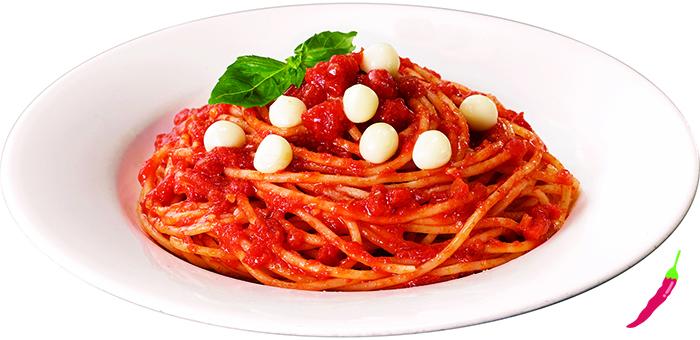 パールモッツァレラのトマトソース