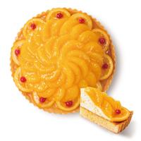 オレンジ果実のタルト